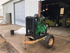 John Deere 4045T Power Unit On Cart