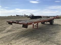1980 King Goose Flatbed Trailer W/Tailroll