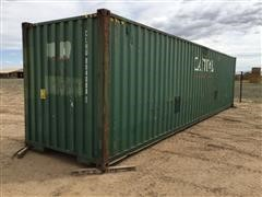 2005 Capitol High Cube Shipping Container