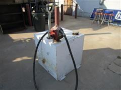 Delta 48500 50 Gallon Fuel Tank W/Hose
