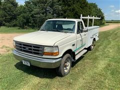 1995 Ford F250 Pickup W/Utility Box