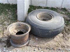 Holcomb 1200 Tire & Rims