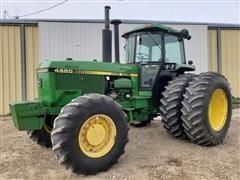 1989 John Deere 4650 MFWD Tractor