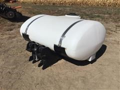 Wylie 300-Gal Poly Saddle Tank