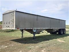 1980 Chamberlin JAGH-6000 T/A Aluminum Grain Trailer