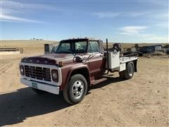 1979 Ford F600 Flatbed Truck