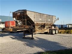 2002 KBH T/A Dry Fertilizer Tender Trailer