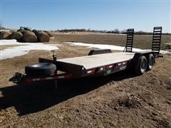 2013 Eagle 20' 14,000lb T/A Car Trailer