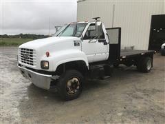 2000 Chevrolet C6500 Flatbed Truck