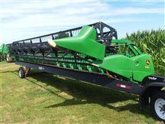 2011 John Deere 635F Soybean Platform
