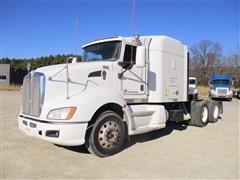 2011 Kenworth T660 Sleeper Truck Tractor