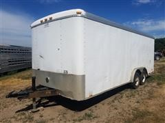 2003 Cargo Mate T/A Enclosed Utility Trailer
