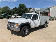 1999 Chevrolet 3500 1 Ton 4x4 Service Truck
