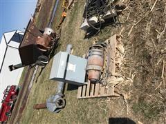 Western Land Roller Water Pump, Gear Head, Control Box