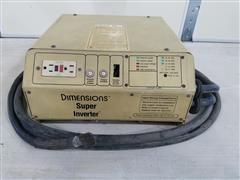 Dimensions DUTO-12/2600 Super Inverter