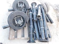 John Deere Vacumeters & Vacuum Pipe Lines