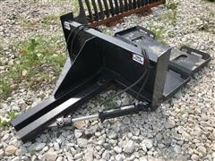Brute Tree Puller Skid Steer Attachment W/Additional Mounting Plates