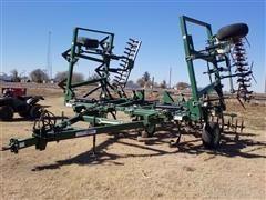 2001 Quinstar Fallowmaster III 28' Field Cultivator
