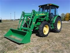 2010 John Deere 5095M MFWD Tractor W/Loader