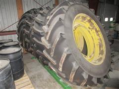 John Deere 4920 Floater Tires And Fenders