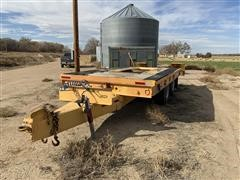 1980 Wisconsin T/A Flatbed Trailer