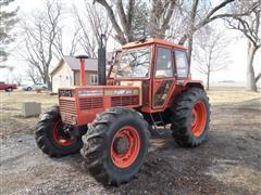 1980 Same Tiger Six 105 MFWD Tractor
