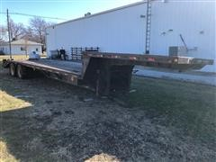 2000 Aztec Expedition 40' T/A Drop Deck Trailer