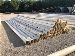 "Kroy 8"" Gated PVC Irrigation Pipe"
