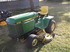 John Deere 430 Tractor / Mower