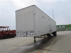 1973 Hobbs Utility T/A Enclosed Trailer