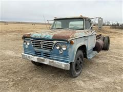 1962 Dodge 500 Cab & Chassis