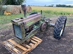 1951 John Deere A 2WD Tractor For Parts