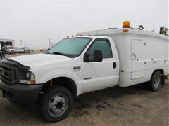 2004 Ford F-550 XL Super Duty Tire & Service Truck