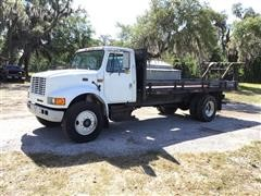 1996 International 4700 Flatbed Truck