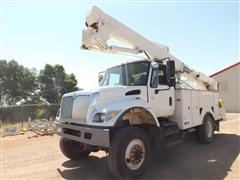 2003 International 7400 4x4 Bucket Truck