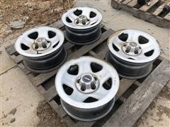 Jeep Steel Take Off Rims