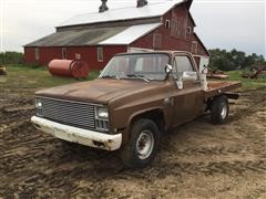 1981 Chevrolet 3/4 Ton Flatbed Pickup