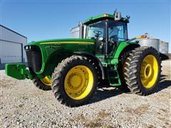 2005 John Deere 8420 MFWD Tractor