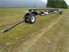 2014 Wemco Easy Glide 36' T/A Flex Header Trailer