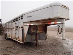 1995 Trailman Livestock Trailer