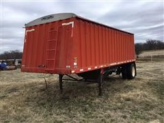 1995 Jetco S/A Single Hopper Grain Trailer