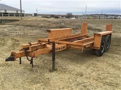 1978 DitchWitch T8 T/A Equipment Trailer