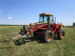 1983 Versatile 160 Bi-Directional 4WD Tractor W/Deweeze Bale Mover