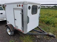1999 Trackmaster Scat Enclosed Trailer