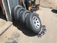 GMC & General Tire Pickup Rims/Tires