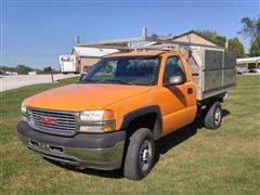2002 GMC Sierra 2500HD Service Truck