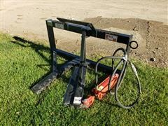 2020 Industrias America Tree Shear/Puller Skid Steer Attachment