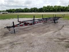 2005 Shop Built 40' Pipe Trailer