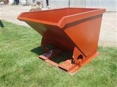 Kit Containers LLC 1.5 Yard Self Dumping Steel Hopper