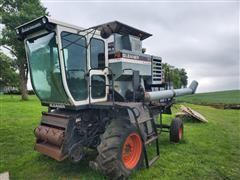Gleaner F2 Corn-Soybean Special Combine W/Grain Head & Corn Head